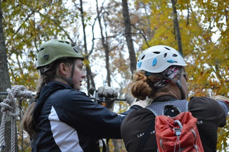 Ziplining Leadership Fellows