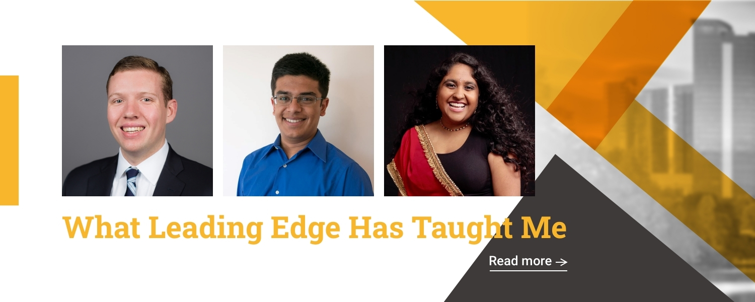What Leading Edge Has Taught Me