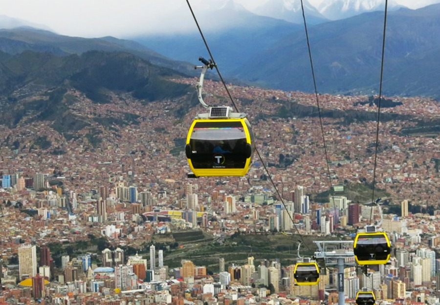 Bloivia Cable Cars